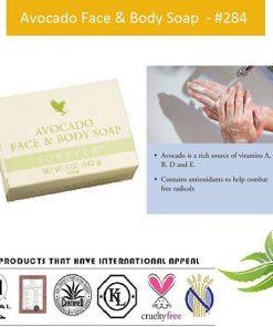 Forever Avocado Face & Body Soap main benefits