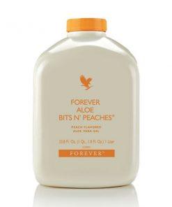 Forever Aloe Bits n' Peaches Fruity & Refreshing Taste Makes it Ideal for Children
